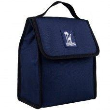 Kids Lunch Box & Bags: Whale Blue Munch 'n Lunch Bag