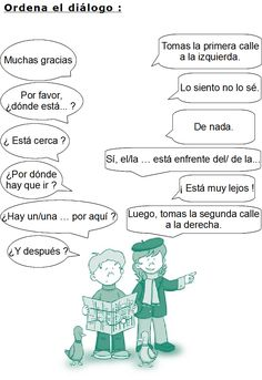 Dialogo indicar un camino Spanish Lessons For Kids, Spanish Games, Spanish Teaching Resources, Teaching Materials, High School Spanish, Spanish Teacher, Spanish Class, World Language Classroom, Spanish Towns