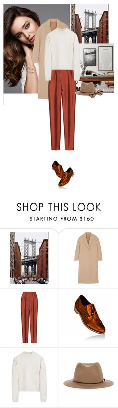 """""""""""The only good thing to do with good advice is pass it on; it is never of any use to oneself."""" - Oscar Wilde"""" by hil4ry ❤ liked on Polyvore featuring Kerr®, Brunello Cucinelli, Haider Ackermann, Acne Studios, rag & bone, Illesteva and shoes"""