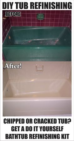 DIY Quick Fix Home Repairs Future House Ideas Pinterest - Bathtub restoration cost