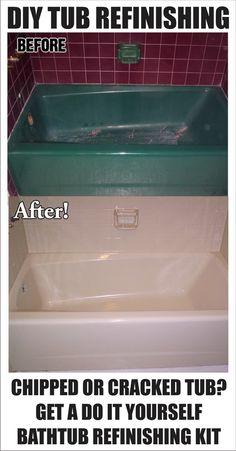 DIY - How To Restore and Refinish A Tub – Bathtub Refinishing