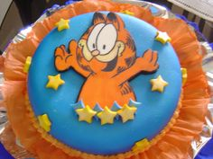 garfield+cake | Original Embed                                                                                                                                                                                 More