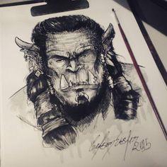 Warcraft Orc /By Celson Kisler - Kisler Art Stock