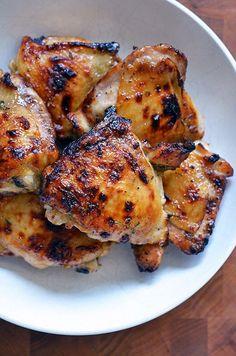 The Paleo Kitchen's Honey Mustard Chicken Thighs | Award-Winning Paleo Recipes | Nom Nom Paleo®