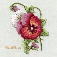 Hello Everyone At last I am able to share with you some details about the new book Miniature Needle Painting Embroidery: Vintage Portraits, Florals & Birds, published by Milner Craft, Australi… Silk Ribbon Embroidery, Crewel Embroidery, Hand Embroidery Patterns, Vintage Embroidery, Embroidery Thread, Cross Stitch Embroidery, Machine Embroidery, Embroidery Designs, Embroidery Supplies