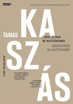 Tamás Kaszás. MS1, Łódź. Poster.