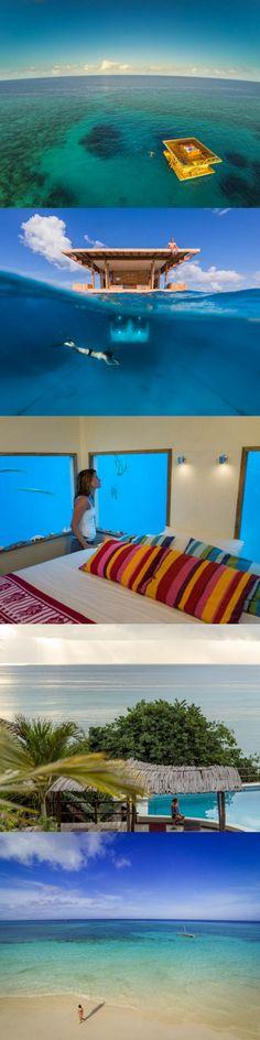 The Manta Resort – Underwater Room