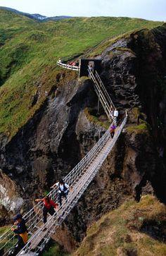Rope Bridge, Northern Ireland