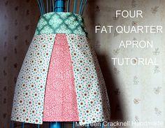Four Fat Quarter Apron by maureencracknell, via Flickr
