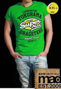 Marca Mad Trademark Mad Camiseta CMDU1545591 T-shirt CMDU1545591  #moda #goodlook #fashion #pittiuomo #eyewear #shabby #collection #chic #colori #colors #style #Camiseta #tshirt #streetwear #wear #ropa #man #unisex #hombre #design #diseño #streetstyle #tendencias #team_moxkito #trends #stylish #cute #pretty #styles #shopping