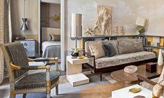 В лице хозяина этой парижской квартиры Жан-Луи Денио нашел идеального заказчика. Разумеется, ведь это он сам! Результат получился тожеидеальным.