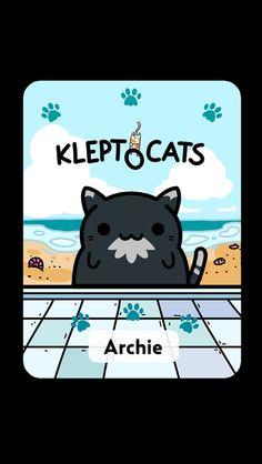 #KleptoCats Aquí está mi nuevo amigo #iOS www.kleptocats.com/share