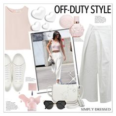 """Off-Duty Style"" by stranjakivana ❤ liked on Polyvore featuring Yves Saint Laurent, SemSem, Brunello Cucinelli, Kate Spade, Fendi, Valentino and offduty"