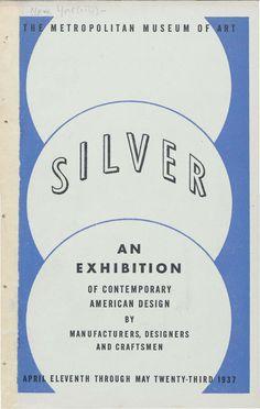 Silver : an exhibiti