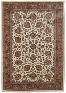 Delectably Yours Finley Heirloom Sand Kashan Area Rug 5 X 8 Or