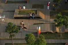 barquitec: Mobiliario urbano, para descansar