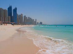 dubai beach- cant wait to walk down this beach with my man!! :)