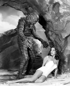 creature from the black lagoon | 31 FLAVORS OF HORROR #20: CREATURE FROM THE BLACK LAGOON (1954).