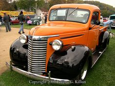 1930s Chevy Truck Riegelsville Kiwanis Club Fall Roll Out