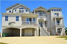 9BR, theater, den, free pool heat, $?? in 2019 Corolla North Carolina, Corolla Outer Banks, Free Pool, Pine Island, Architectural Design House Plans, Outer Banks Vacation, Mansions, House Styles, Paradise