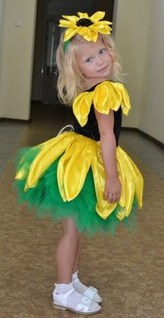Fantasia infantil Margarida Carnaval criativo.