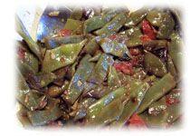 Fagiolini Mangiatutto Saltati (Sautéed Broadbeans)