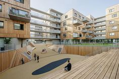Ekologická a sociální udržitelnost především. Mimořádný bytový komplex v nové čtvrti Seestadt Aspern | EARCH.