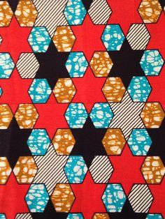 """Tissu africain """"Johnny"""" by Maison Malou. En vente au mètre sur www.maisonmalou.fr"""