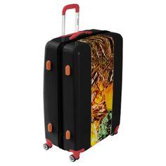 Autumn - Squash - Feeling squashed Luggage - thanksgiving day family holiday decor design idea