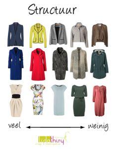 Afhankelijk van de context kies je voor veel of weinig structuur in je kleding | www.lidathiry.nl | klik op de foto voor het blog #StructuurInJeKleding