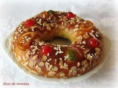 Bloc de recetas: Roscón de Reyes de espelta con levadura natural
