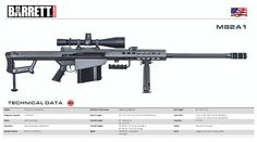 The Barrett 50 Weapons Guns, Guns And Ammo, Rifles, Assault Weapon, Military Guns, Fire Powers, Modern Warfare, Firearms, Shotguns