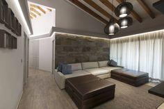 Busca imágenes de diseños de Salas estilo rústico}: Casa Cuernavaca. Encuentra las mejores fotos para inspirarte y y crear el hogar de tus sueños.