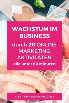 E-mail Marketing, Content Marketing, Online Marketing, Social Media Plattformen, On Page Seo, Entrepreneurship, Online Business, Tricks, Motivation
