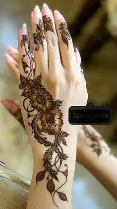 Mhndi Design, Khafif Mehndi Design, Modern Mehndi Designs, Mehndi Design Photos, Mehndi Images, Henna Tattoo Kit, Simple Henna Tattoo, Mehndi Tattoo, Pretty Henna Designs