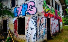 Straßenkunst auf Bastimentos, Panama © Isabella Falter #Mittelamerika