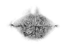 Surreal Pencil Drawings of Lips by Christo Dagorov surreal lips drawing anatomy