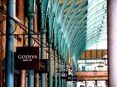 Covent Garden luxury stores