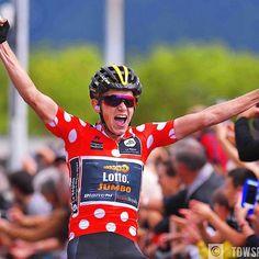 source instagram tdwsport  New generation, new names, new winners @koen.bouwman #celebration #winner #stage3 @criteriumdudauphine2017 #dauphiné #cycling @lottonljumbo_road  tdwsport  2017/06/07 07:29:42
