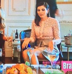 Heather Dubrow's Outfit at Shannon's Healthy Party | http://www.bigblondehair.com/real-housewives/rhoc/heather-dubrows-outfit-at-shannons-healthy-party/