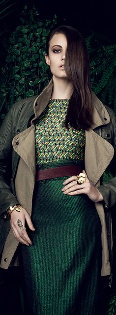 Masala Photoshoot Damiele Rambo for Vogue Brasil 2013
