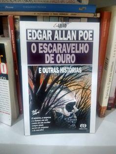 O escaravelho de ouro e outras histórias -Edgar Allan Poe  https://www.dalianegra.com.br/o-escaravelho-de-ouro-e-outras-historias
