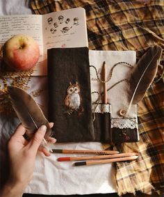 My Owl Barn: Beautiful Hand Embroidered Products by Ellen Tyn Embroidery Art, Embroidery Patterns, Vsco Nature, Textile Fiber Art, Look At The Stars, Witch Aesthetic, Beautiful Hands, Book Art, Sewing Projects