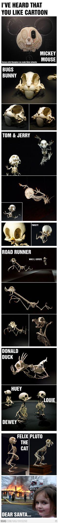 Some skeletons #Cartoon