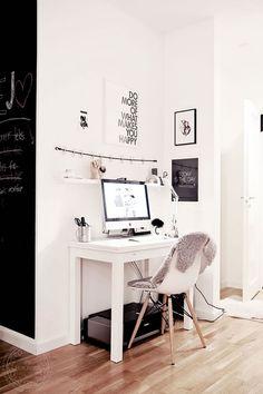 14 ideas para un rincn de trabajo de estilo escandinavo