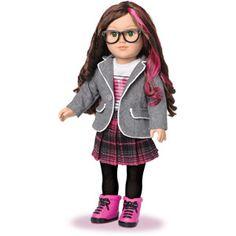 My+Life+As+School+Girl+Doll,+Brunette