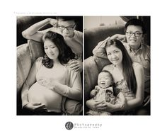 On 2012, July 30, Esther Cheng and her husband Teh Way Khang engaged my photography service  for their maternity portrait.... On 2013, March 24, they calling me back to photograph their son's baby portrait also wanted to have another family photos together.  and so i came out the idea of previous maternity i shot back in 2012. i shoot back the same angle but this time with baby Julian in...  I hope few years later can photograph back this same angle...