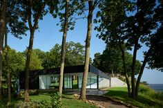 Grand Lake Poolhouse by Allford Hall Monaghan Morris ©Tim Soar #wanawards #House of the Year entry