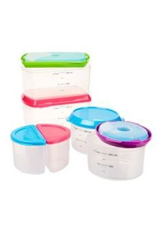 fit u0026 fresh healthy living 14piece container kit with reusable ice packs multi - Reusable Ice Packs