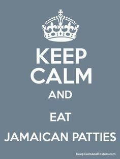 Keep Calm and eat #Jamaican patties. #Jamaica #Foodie
